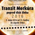 Tranzit Merkúra 2016