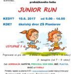 Junior run